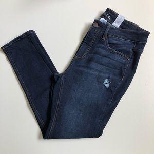 4/$25 Time and Tru Jeans Denim Distressed Skinny